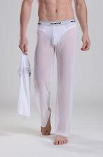 Pantalon interieur taille L blanc transparent  Manview by NEOFAN sheer Ref M02