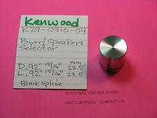 Kenwood k29-0310-04 Power/Speakers Selector Knob kr-4010 kr-5010