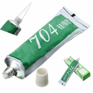 New High Temperature Electronic Devices Silicon Rubber Pro 704 Sealant Glue Hot