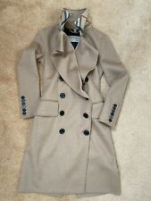 Genuine Burberry Womens Crewe Wool Trench Coat - Rare S18 Runway Collection