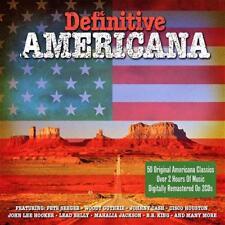 DEFINITIVE AMERICANA - 50 AMERICANA CLASSICS - VARIOUS ARTISTS  (NEW SEALED 2CD)