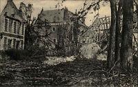 Vimy Frankreich 1. Weltkrieg ~1914-18 Teilansicht nach der Beschiessung Ruinen