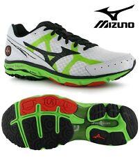 Mizuno wave rider 17 homme chaussures de course/baskets de sport * nouveau uk 13