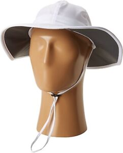 Columbia 178270 Womens UV Sun Protection Boonie Hat Solid White Size One Size
