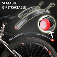 Bike Mudguard Mountain Bike Road bike Telescopic With Taillight Riding