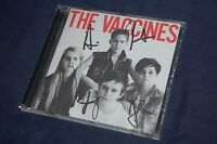 The Vaccines - Come of Age (2012) SIGNED/AUTOGRAPHED CD