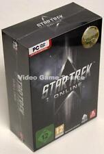 PC STAR TREK ONLINE GOLD EDITION + MAPS + PIN + SHIRT + RED MATTER *NEU/NEW!