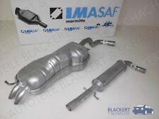 IMASAF Auspuffset ab Kat VW Golf 4 IV 2.0 + 2.3 V5 Mitteltopf+Endtopf 1997-2005