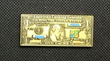 2006 One Cache Dollar Geocoin Bronze finish trackable UNACTIVATED VHTF
