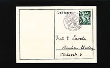 Germany 5 Yrs Nazi Rule Postal Card & ONE DAY ONLY Munich Special Cancel 1938 4q