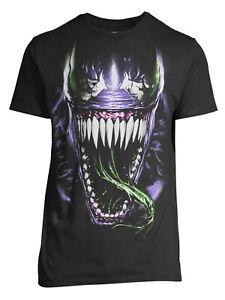 Marvel's Venom Standard Black Adult T-Shirt