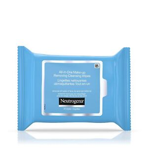 Set Of 3 Neutrogena Makeup Remover Cleansing Towelettes 25 Each Refill Pack