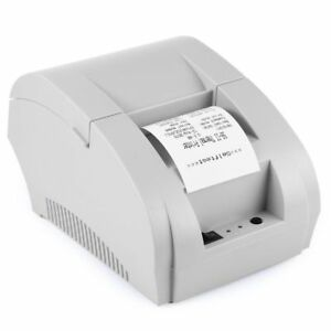 Ticket Thermal Printer With USB Port Manual POS Receipt Universal Printing Tools