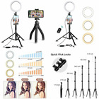 Selfie Ring Light with Tripod Stand Bundle Flexible with...