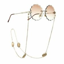 Metal Shell Pendant Design Eyeglasses Accessories Link Chains Neck Rope Lanyard