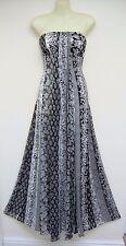 MONSOON BRIDGETTE BLACK WHITE MAXI LONG DRESS 18 rrp=£160 BRAND NEW WITH TAGS
