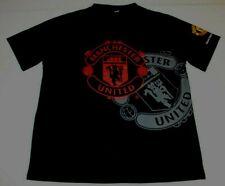 MUFC Manchester United Football Club FC Jersey Shirt Medium Soccer Futbol Black