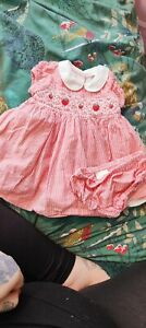 Next Baby Girl Smocked Dress 0-3 Months