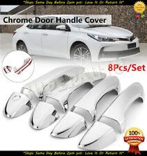 For CHEVY Silverado 14 15 16 17 18 Chrome Covers Set 4 Doors PK+Tailgate Keyhole