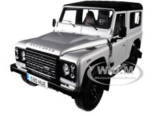 2015 LAND ROVER DEFENDER 90 2.000.000 PCS EDITION SILVER 1/18 ALMOST REAL 810202