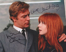 Michael Caine & Jane Asher HAND Signed 8x10 Photo, Autograph, Alfie