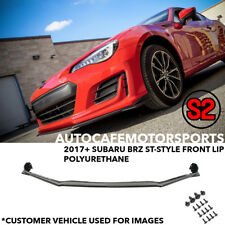 S2 Auto Design ST-Style Front Lip (Polyurethane) for 2017 Subaru BRZ