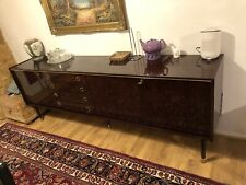 Mahogany Dining Table and Cupboard