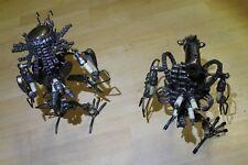 Alien vs Predator Action Scrap Metal Art Sculpture Handcrafted Figure See Pics!!