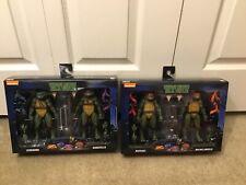Tmnt Neca Walmart 2 Packs Leonardo & Donatello Raphael & Michelangelo HTF