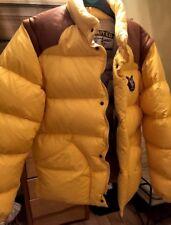 Chevignon Puffa Puffer Jacket Yellow Medium Brand New.