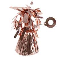 10 x Metallic Rose Gold tassel foil Balloon weight Balloon Bouquet Wedding