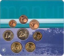 HOLANDA NETHERLANDS 2000. BLISTER EUROSET OFICIAL 8 MONEDAS - BU UNC