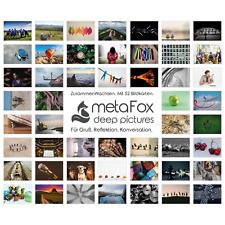 metaFox ZUSAMMEN WACHSEN - Bildkarten / Postkarten für Coaching & Training
