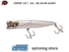 MOLIX POPPER T  mm 130 GR 38 col. 180 SILVER ALBINO POPPER TARPON