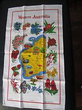 Souvenir Tea Towel Western Australia pure Cotton