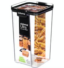 Sistema 51403 5.4 Cup1300ml Tritan Ultra Collection Square Storage Container