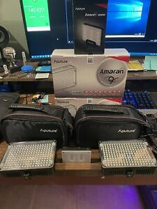 Aputure LED Lights with Extras!