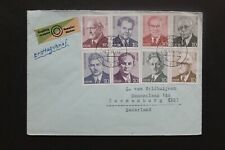 DDR 1974 Ersttagbrief Persönlichkeiten der deutschen Arbeiterbewegung