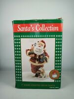 "VINTAGE THC 1994 ~ SANTA'S COLLECTION ~ 7"" HAND CRAFTED RESIN SANTA"