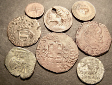 New Listing8 16-19th Century Bronze Coins Lot , European,15-30mm, 26.28 gm