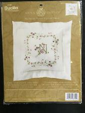 Bucilla Anna Griffin Majestic Vines Stamped Pillow Sham Kit New 43719 16x16