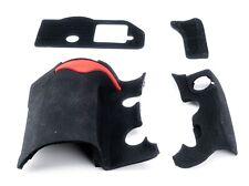 Rubber Body 4 Piece Set Cover Shell Grip Unit Part For Nikon D300 3M Tape & Glue