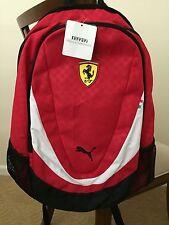 New PUMA Ferrari Red BackPack Sport Travel Laptop Sleeve School Training Bag