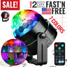 Party Disco Ball Lights Strobe LED Dj Lamp Sound Activated Dance Club Decoration