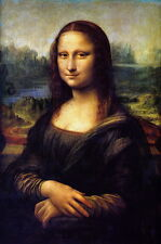 Art Canvas Print Mona Lisa Oil Painting printed on canvas 20X30 inch L084