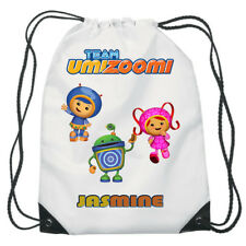 Team Umizoomi Drawstring Swimming, School, PE Bag For Personalised