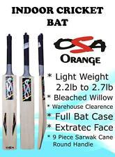 OSA INDOOR CRICKET BAT Light Wt + FREE BAT COVER