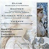 Elgar: Serenade for Strings, Bridge: Bridge Variations, Williams: Tallis Fantasi