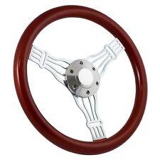 """NEW WHEEL! 1960 -69 Chevy C10 Pick Up Truck 15"""" Banjo Steering Wheel - Full Kit"""