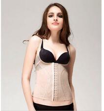 Slimming nylon sexy beige vest top